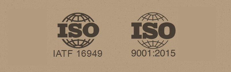 Myers Spring is IATF 16949, ISO 9001 and ISO 14001 certified